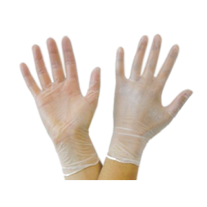 Vinyl Powder Free Gloves L/M, 100 Count
